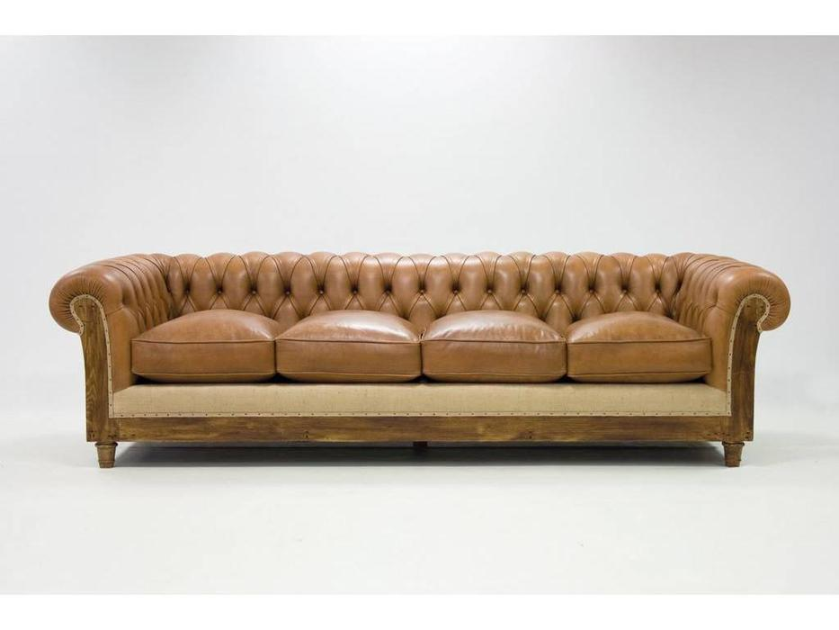 диван 3 местный Crearte Essence Chesterfield